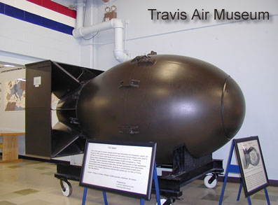 A old war collection at the Tavis Air Museum.